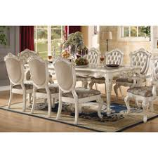 Acme Dining Room Furniture Chantelle Collection Acme Furniture Living Room And Dining