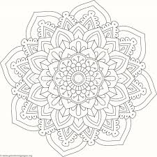 flower mandala coloring pages 516 u2013 getcoloringpages org