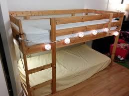 Mydal Bunk Bed Frame Turn A Mydal Bunkbed Into A Kura Loft Bed Ikea Hackers Ikea