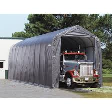 shelterlogic 14 x 40 x 16 ft peak style boat rv canopy carport