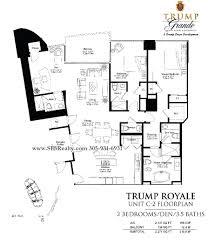 floor plan trump royale sunny isles beach trump royale condo for