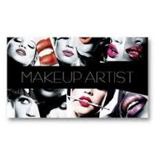 makeup artist cosmetologist beauty salon business card templates