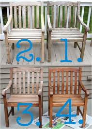 Cleaning Outdoor Furniture by Beautiful Caring For Teak Outdoor Furniture How To Clean Wood