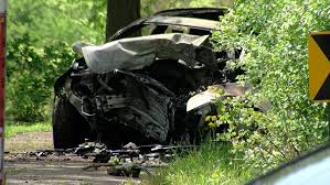 car slammed into tree and caught fire in silverton wkrc