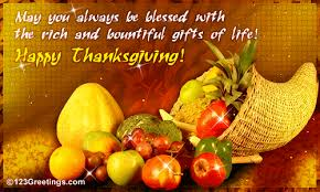 may you be blessed on thanksgiving free happy thanksgiving ecards