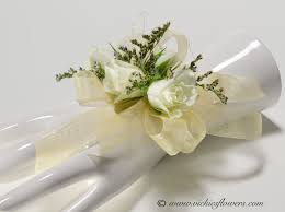 White Orchid Corsage Wedding Corsages Vickies Flowers Brighton Colorado Florist