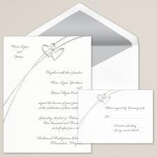 soaring hearts wedding invitation heart wedding invitations