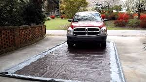 How To Build A Car Garage make your own car wash mat youtube