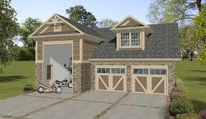 plan 20127ga craftsman garage apartment with rv garage garage
