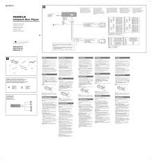 download free pdf for sony cdx in cdx gt210 wiring diagram