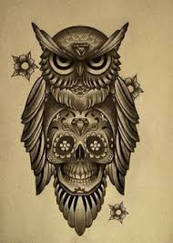 50 owl and skull ideas for your ink skulls