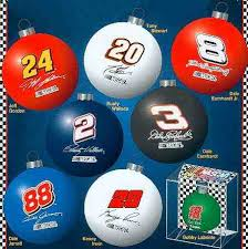 nascar drivers br ornaments