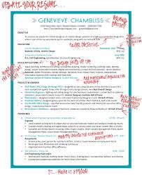 Interior Designer Resume Turned To Design Taking The Plunge Revamping The Resume For