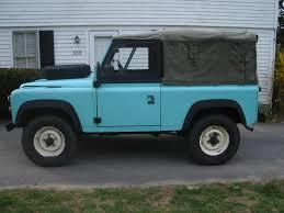 land rover mod 1986 ex mod 90 soft top w truck cab lhd