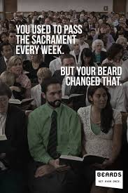 Anti Mormon Memes - lds church begins new not even once anti beard caign