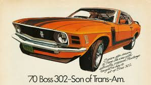 1970 mustang 302 poster ford mustang ford and cars