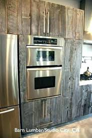old wood cabinet doors reclaimed wood kitchen cabinets by1 co