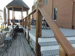 deck railings pictures deck modern with aluminum deck railing