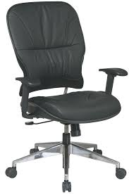 32 44p918p office star mid back leather managers office chair