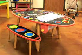 Activity Table For Kids Furniture Wonderful Art Master Activity Desk Desks Step Kids