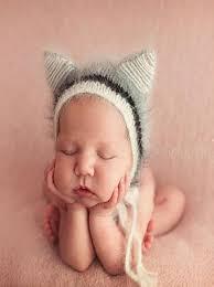 baby props crochet mohair baby hat baby boy photo props newborn photography