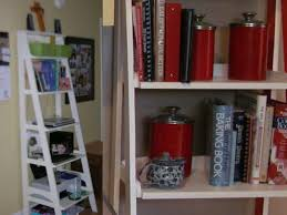 Red Ladder Bookcase by Kneeler U2013 Being The Carruths