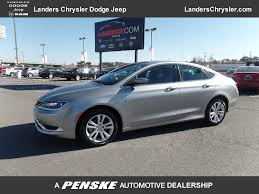 2015 chrysler jeep 2015 used chrysler 200 4dr sedan limited fwd at landers chrysler