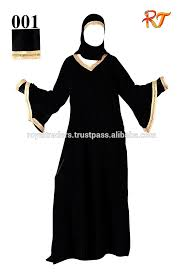 Muslim Halloween Costume Latest Burqa Designs Buttons Women Islamic Clothing Muslim Dress