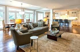 living room floor plans small kitchen living room floor plans best open plan design ideas