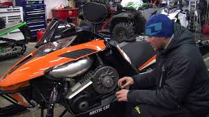 2012 arctic cat snowmobile belt change and deflection tech tip