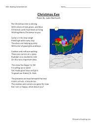 christmas worksheets 4th grade reading christmas worksheetsfifth