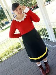 Popeye Olive Oyl Halloween Costumes Fond Homemade Halloween Costume Ideas