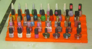 ways to store your nail polishes