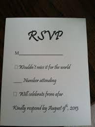 rsvp cards wedding best 25 wedding response cards ideas on response