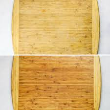 how to sanitize and restore a wood cutting board without chemicals