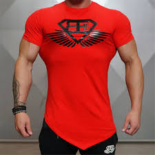 diamond men gym t shirt bodybuilding fitness short sleeve shirt
