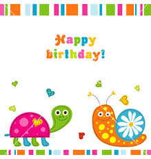 card invitation design ideas children birthday card vector turtle