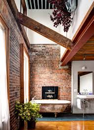Exposed Brick Wall by Get An Industrial Style Home By Using Exposed Brick Walls