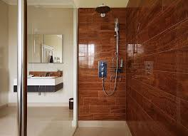 Bathroom Natural Wood Tile Bathroom Ideas And Tips For Exquisite Modern Bathroom