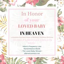 Devotions For Baby Shower - loved baby shower one big way to recognize national pregnancy