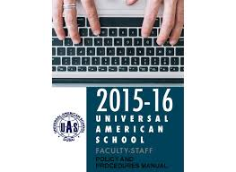 uas faculty staff policy handbook by universal american of