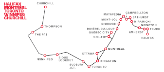 Churchill Canada Map by Discover Canada On The Pan Canadian