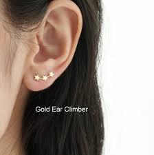 stud for ear silver ear studs by attic notonthehighstreet