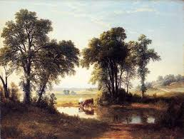 New Hampshire Landscapes images Cows in a new hampshire landscape quot asher brown durand artwork on jpg