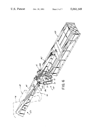 patent us5061149 fork lift vehicle having a telescopic boom with