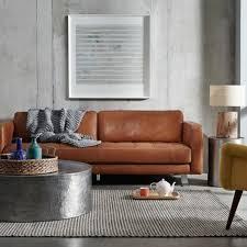 canape deco cuir 60 idées comment adopter la couleur caramel à la maison canapés en