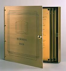 memorial book memorial books
