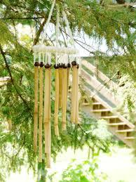 diy bamboo wind chimes