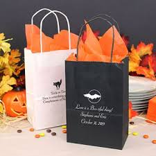 halloween gift bags personalized halloween party favor bags