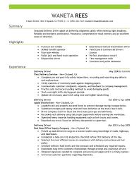 truck driver resume sample delivery driver resume sample resume for study